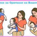 пози, начини и техники за лесно оригване на бебе