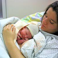 родилка след раждене на бебе