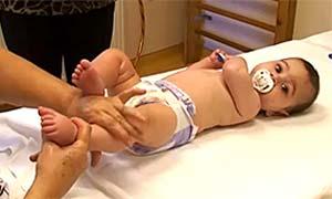 масаж на бебето