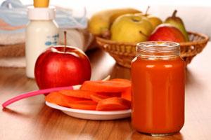 хранителни вещества за детето