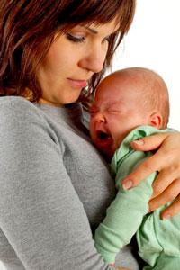 колики при бебето