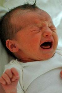 колики при бебета