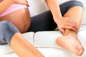 отоци на краката при бременност