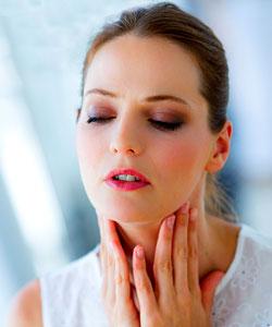 болки в гърлото при бременност