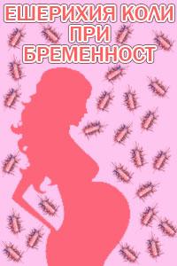 ешерихия коли при бременност