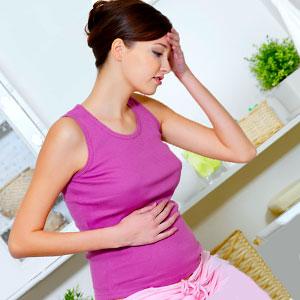 болки в корема при ранна бременност