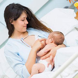 зелено ако при кърмено бебе