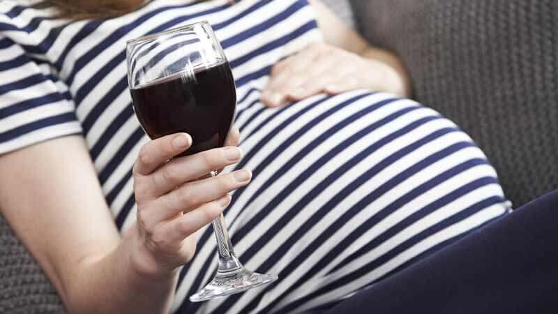 вино по време на бременност