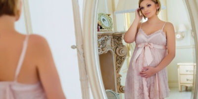красива през бременността
