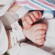 крачета на новородено бебе